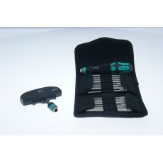 Wera Scewdriver & X Handle Set