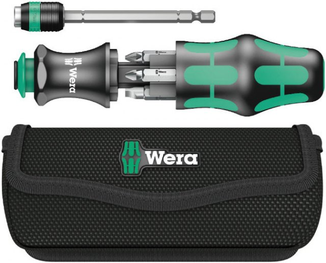 Wera Wera Kraftform Kompakt 20 with pouch