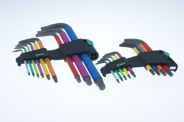 Wera Wera Blacklaser Hex & Torque Key Sets