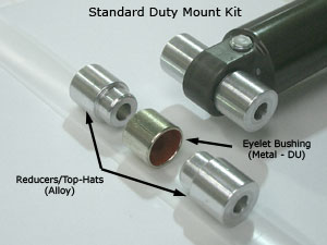 Mount Kits and Bushings for Rear Shocks - A Guide - TF Tuned